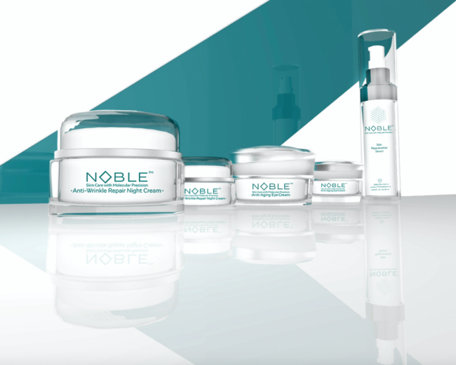 NOBLE – Anti Aging Product Line by Nobel Prize Winning Chemist Sir Fraser Stoddart