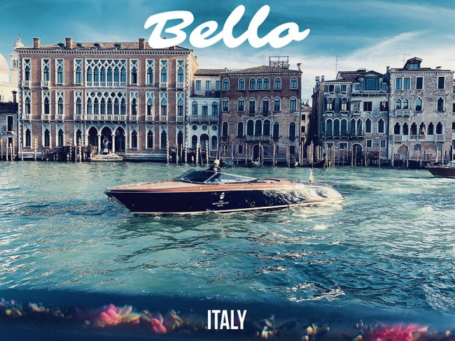 "Destination Italy ""Dolce Vita by The Water"""