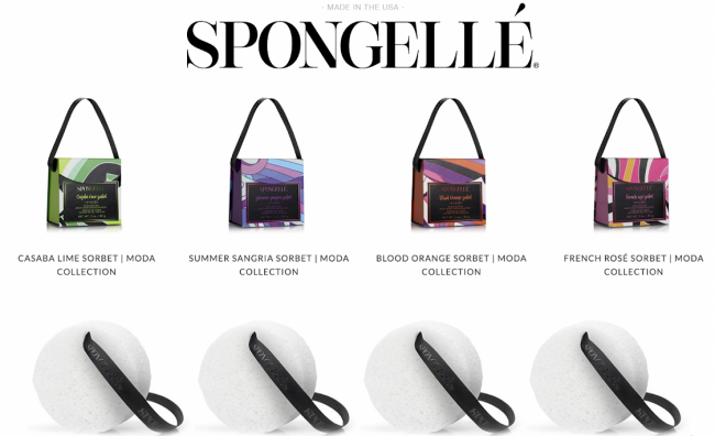 Summer is here with Spongellé's NEW MODA COLLECTION