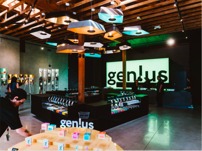 New Gen!us boutique dispensary in the heart of LA