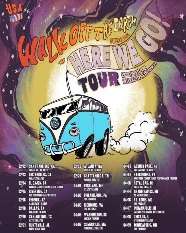 Walk Off The Earth Presents The Here We Go Tour