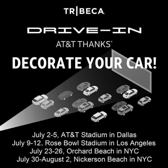 Tribeca Film Launches New Drive-In Film Series