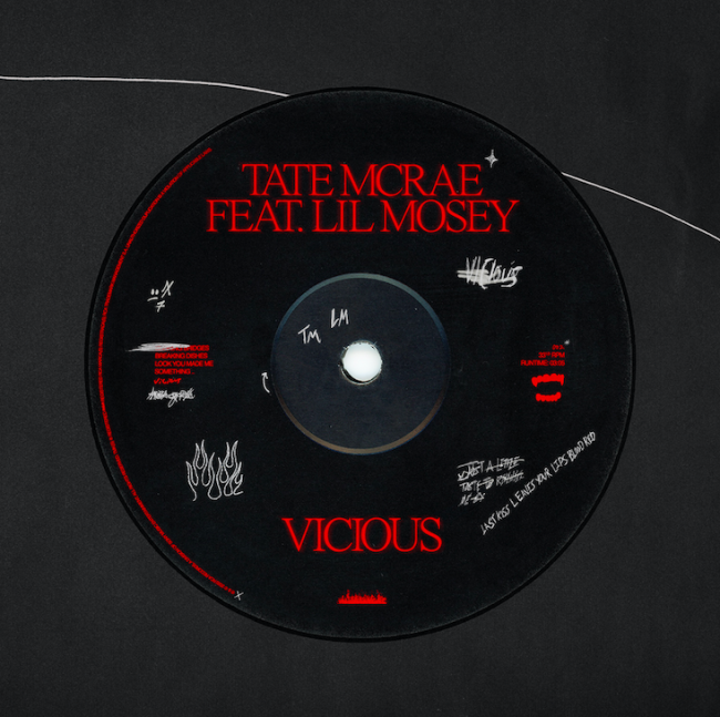 """Tate Mcrae Releases """"vicious ft. lil mosey"""""""