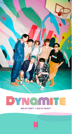 "BTS UNVEILS FIRST GROUP TEASER PHOTO FOR ""DYNAMITE"""