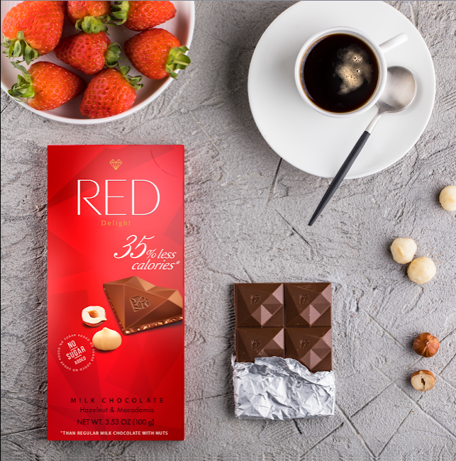 Get Picked Up by RED Chocolate's Grab-N-Go Bars